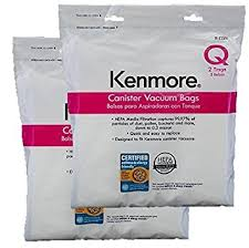 kenmore q vacuum bags. ultracare kenmore q canister hepa cloth bags. will also fit/replace type c vacuum bags