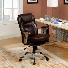 eco office chair. serta back in motion health u0026 wellness ecofriendly bonded leather midback office chair frye chocolate hayneedle eco d