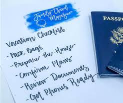 Vacation Checklist - Family Travel Magazine