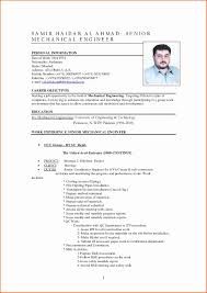 Mechanical Engineer Resume Samples Experienced Beautiful Resume