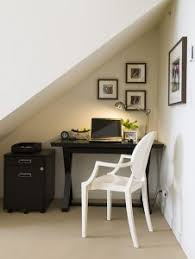 small space office solutions. awkward-nook-transformed-into-stylish-work-space small space office solutions