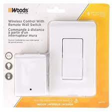 woods 8 amp indoor plug in wireless