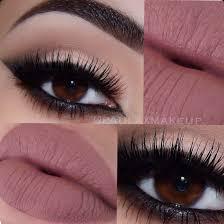 beautiful beauty brown eyes eye makeup eyelashes