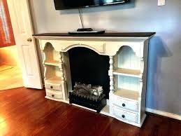 electric fireplace dresser cute style dresser or buffet top makes a sweet country faux fireplace for