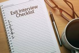 Exit Interview Checklist How To Carry Out An Exit Interview Robert Half Uae