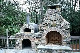 pizza oven smoker combo outdoor fireplace with stone bench seat outside brick grill bbq fi pizza oven smoker combo outdoor fireplace