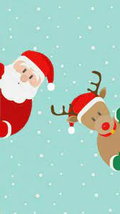 Santa Christmas Phone Wallpapers - Top ...