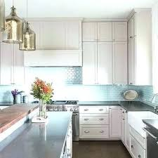 Kitchen With Glass Tile Backsplash Magnificent Modern Kitchen Glass Backsplash Ideas Glass For Kitchen Blue Glass