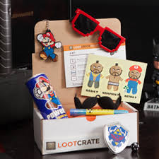 loot crate perfect for the husband for his birthday the gift that keeps on giving