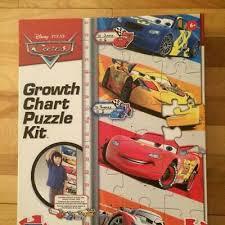 Disney 50 Piece Cars Growth Chart Puzzle 14 99 Picclick