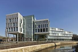 contemporary office buildings. Number One Riverside Rochdale Contemporary Office Buildings A