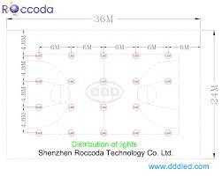 professional led court lighting manufacturer