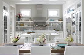 kitchens blue grey paint color design ideas
