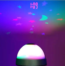 moon and stars night light whole stars moon projection night light alarm clock with led projector