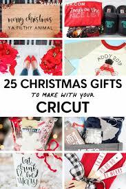 25 best cricut christmas gift ideas