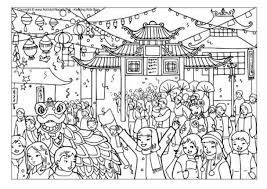 Small Picture Chinese New Year Coloring Pages pertaining to Motivate to color an