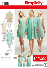 Simplicity Patterns Awesome 48 Simplicity Pattern Misses Dresses And Coat Or Jacket