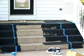 remarkable painting concrete porch painted concrete front porch painting your how to paint steps concrete paint