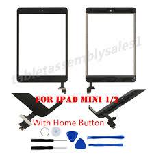 black touch screen glass digitizer