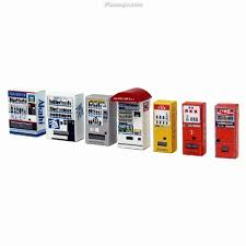 Papercraft Vending Machine Enchanting Miniatuart] Diorama Option Kit Vending Machine D Paper Craft