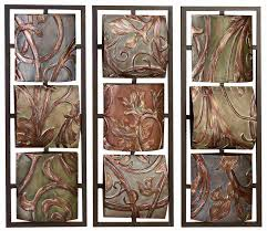 decorative metal wall art panels endearing