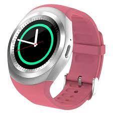 Đồng hồ thông minh Y1 Màu Hồng - Đồng Hồ Thông Minh Thương hiệu OEM