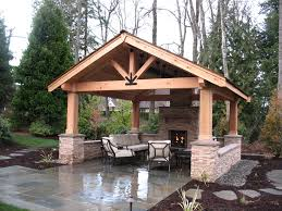 Outdoor patios with fireplace Decor Ideas Covered Patios Enhance Outdoor Living Becrowd Covered Patios Enhance Outdoor Living Malones Landscape