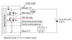 wafer mapping sensor m dw1 i o circuit and wiring diagrams npn output i o circuit diagram