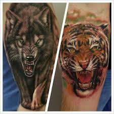 Tetování Zvířata Tetování Tattoo