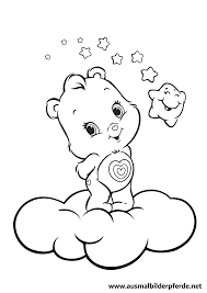 Care Bears Newest Bear Wonderheart Coloring
