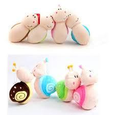 2013cm little snail doll plush toy home office desk decor wedding doll af home office