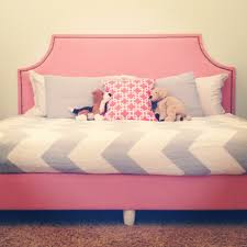 excellent idea girls fabric headboard twin bed upholstered diy box spring and to make a daybed 15 headboards