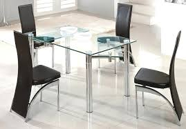 glass dining room sets image of extendable glass dining table ideas glass dining room sets ikea