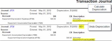Fixed Asset Depreciation Calculator Calculating Depreciation