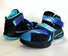 lebron youth basketball shoes. boys youth 1 nike lebron soldier leather basketball shoes 92247 lebron