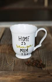make a simple diy mug for your mom for mother s day birthday or just to
