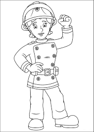Small Picture Fireman Sam Coloring Pages