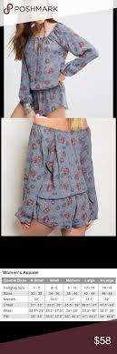 Honey Punch Size Chart Delicately Floral Romper By Honey Punch This Very Comfy