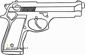 Coloring Pages Of Nerf Guns Gun Coloring Pages 2 Nerf Gun Coloring