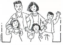 Small Picture Family Coloring Pages For People Coloring Coloring Pages