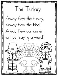 15 Thanksgiving Sight Word Poems For