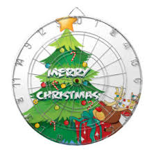 Image result for Dartboard in Christmas tree