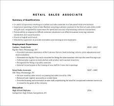 Sales Associate Job Description Resume Interesting Job Description For A Retail Sales Associate Retail Sales Associate