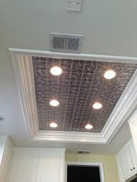 use metal panel to hide where old light was master bathroom metal panels metals and lights