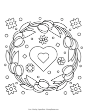 We have tons of free printable spring coloring pages! Spring Coloring Pages Free Printable Pdf From Primarygames