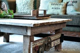 coffee tables made out of pallets my new junk styled pallet wood coffee table funky for