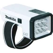 Makita Work Light 18v Makita Dml186w Compact 18v Lithium Ion Cordless L E D Flashlight Work Light