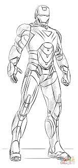 Disegno Di Iron Man Da Colorare Disegni Da Colorare E Stampare Gratis