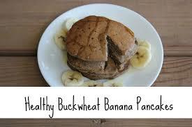 buckwheat banana pancakes vegan and gluten free