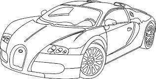 Small Picture Coloring Pages Bugatti To Print For Kids Online Chiron clarknews